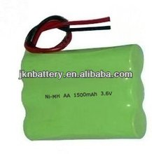 Rechargeable nimh aa batteries 3.6v 1400mah