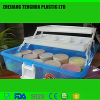 second hand small plastic tool boxes with lock,plastic drawer storage tool boxes for screw