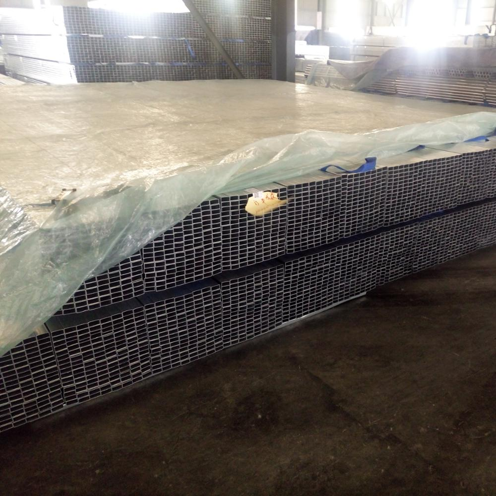 Building materials Industry Galvanized square steel metal pipe prices per kg