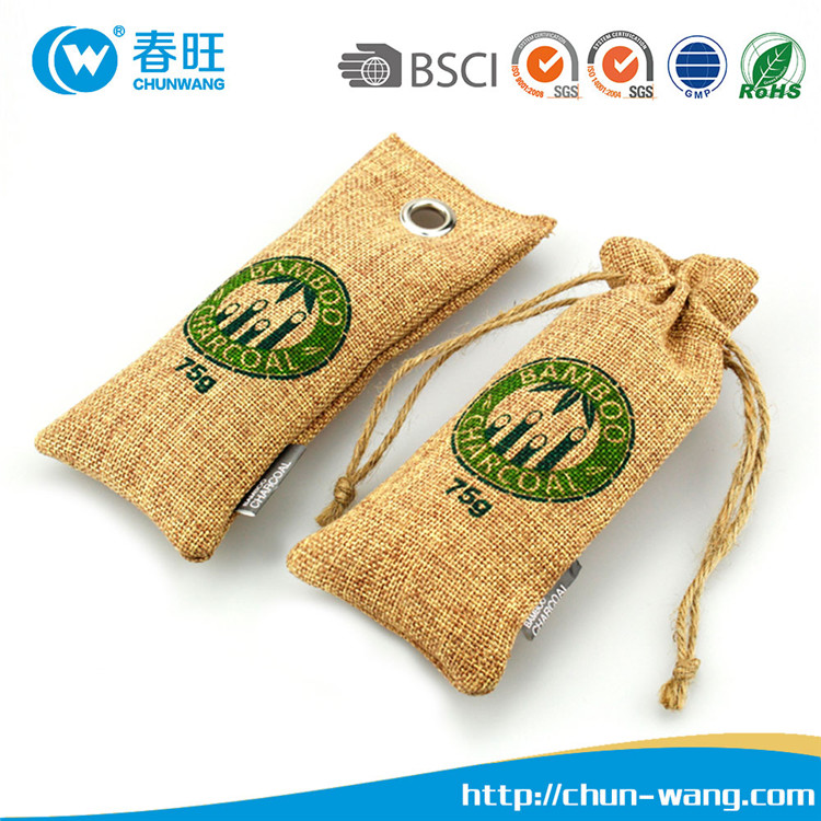 Top selling 100% natural bamboo charcoal refrigerator air freshener Customized Design