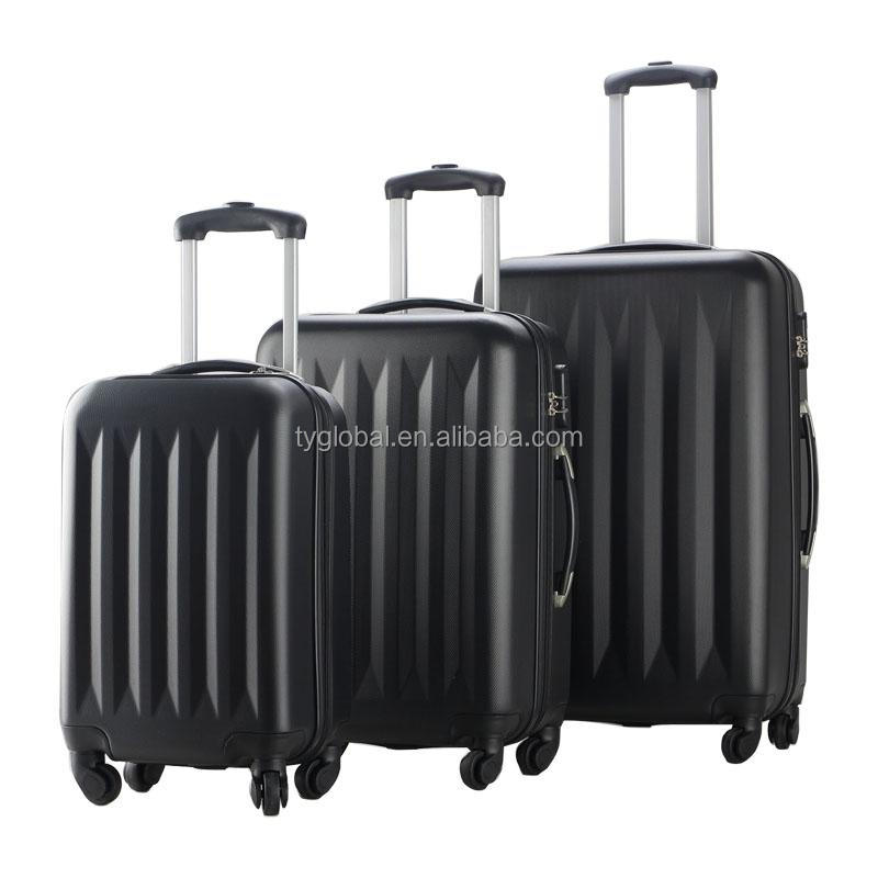 New 3 Pcs best cheap trolley luggage suitcase parts
