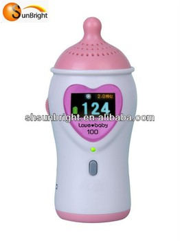 CE certified Fetal Doppler ---Color ultrasonic pocket doppler porket fetal doppler heart monitor