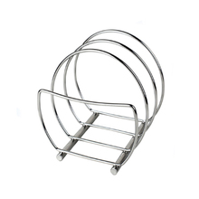 High Quality multi-funaction 3 Layers Metal Material Kitchen Fry Pan Pot Holder Rack