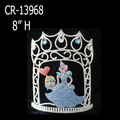Wholesale Custom Rhinestone Cinderella Princess Pageant Crown
