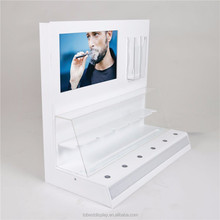 Custom acrylic electronic cigarettes display rack, cigarettes display box, pen holder
