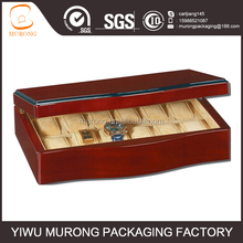 12 slots wooden box for watch
