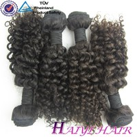 6A 100% Pure Human Weave Wholesale Kinky Curly Virgin Peruvian Hair Extension Curly Human Hair