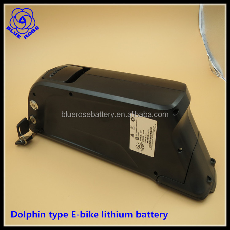 48V 10Ah Dolphin Mountain electric e bike e-bicycle Rechargeable lithium li-ion battery batteries pack