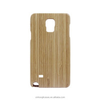 Wholesale Detachable Nature Bamboo Case Cover For Samsung Galaxy Note 4