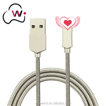 Premium Quality 8 Pin Metal Net Braided Zinc Alloy Sync Charging able