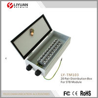 LY-TM103 20 Pair Distribution Box For STB Module