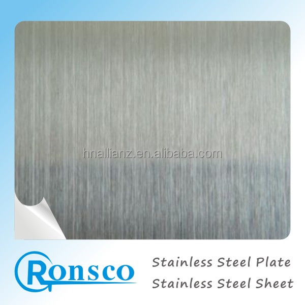 hairline finish 316l stainless steel plate selling to Canada