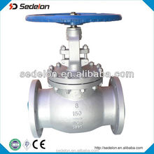 NPS 8'' Class150 Flanged Globe Valves Water Control