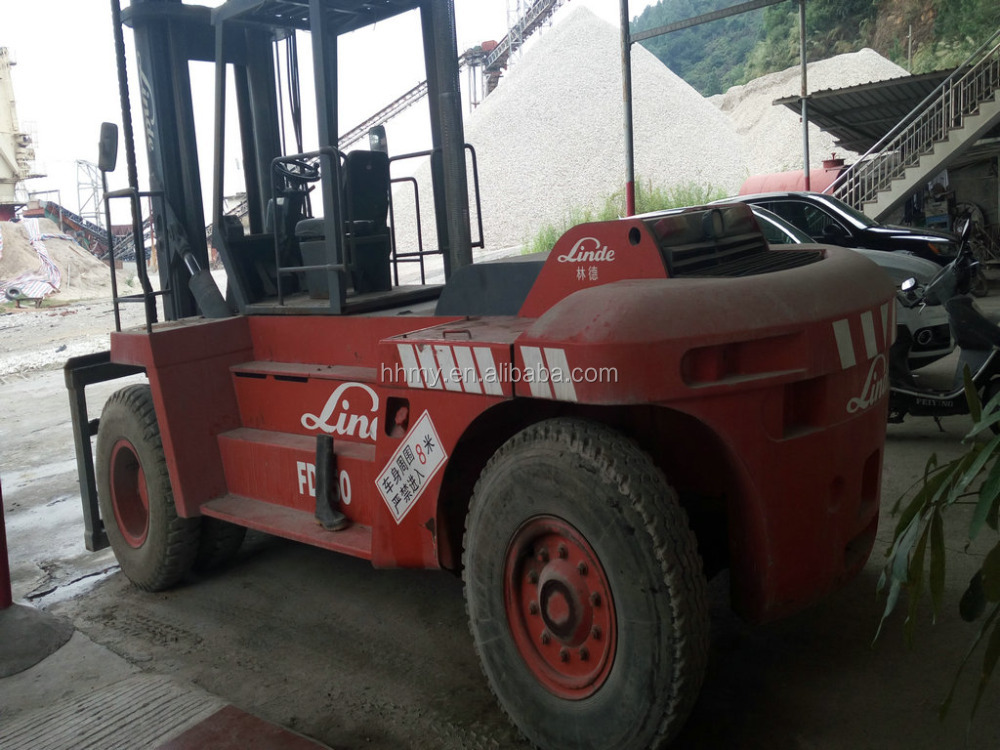 LINDE H160 16ton nissan sd25 forklift parts hot for sale