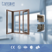 2016 top supplier Tansive construction aluminium bronze color interior window