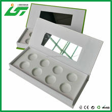 Best seller mirror pattern glass jewelry box and glass mirror jewellery box in Shenzhen