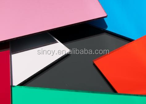 SINOY 4mm Sinolaco kitchen splash back painted glass /back lacquered glass for kitchen usage