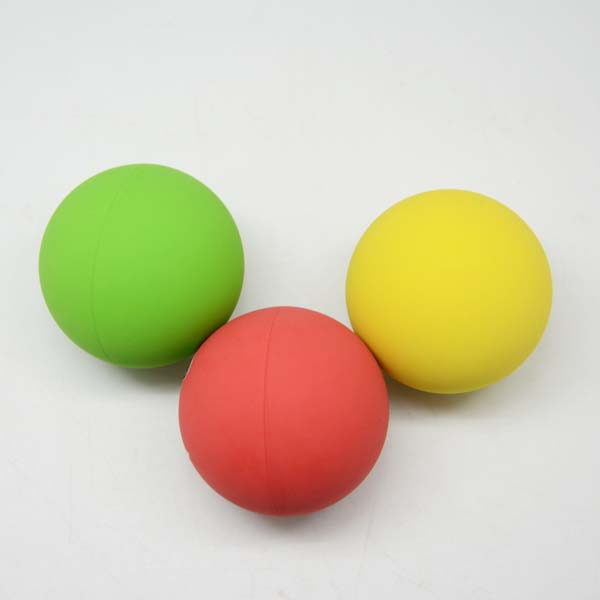 Colorful High Bouncing Squash Ball with Logo Printed for Tennis Racket Rubber Toy Ball