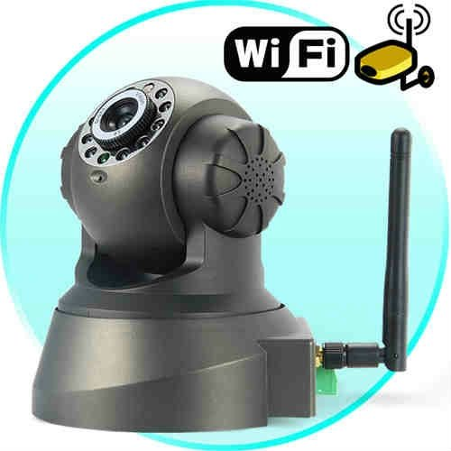 Wireless and Wired IP CCTV Camera