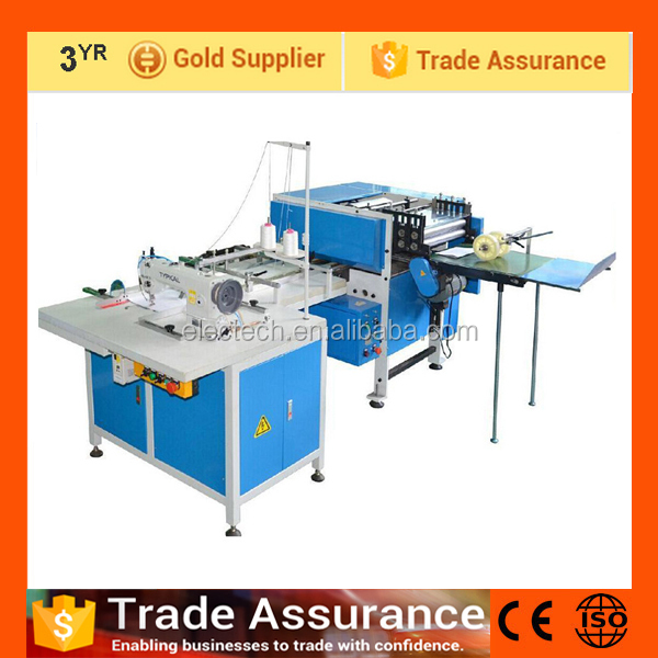 Exercise book paper notebook making machine / thread book sewing machine / thread binding machine