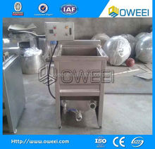 fast food hotels chicken legs meat balls deep fryer oil filter machine for selling