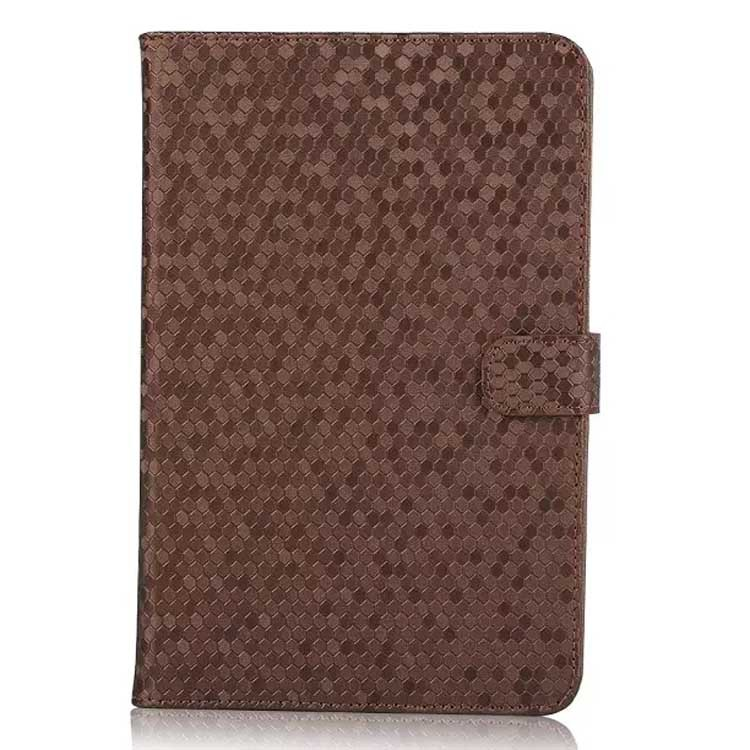 2015 New Diamond skin leather flip case for Apple Ipad mini 4 wallet case cover