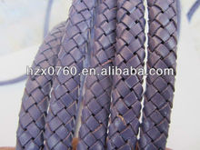 Round snake leather cord for Leather Product