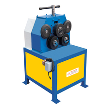 Mechanical Aluminum 3-Roller Iron Plate Sheet Rolling Machine