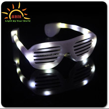 Wholesale Sunglasses Hip hop flashing party gift window-shades light up sunglasses