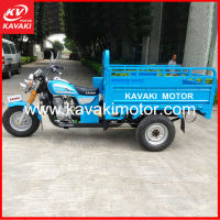 High Quality Open Cabin Gasoline Motorized Cargo Three Wheel Gas Scooter