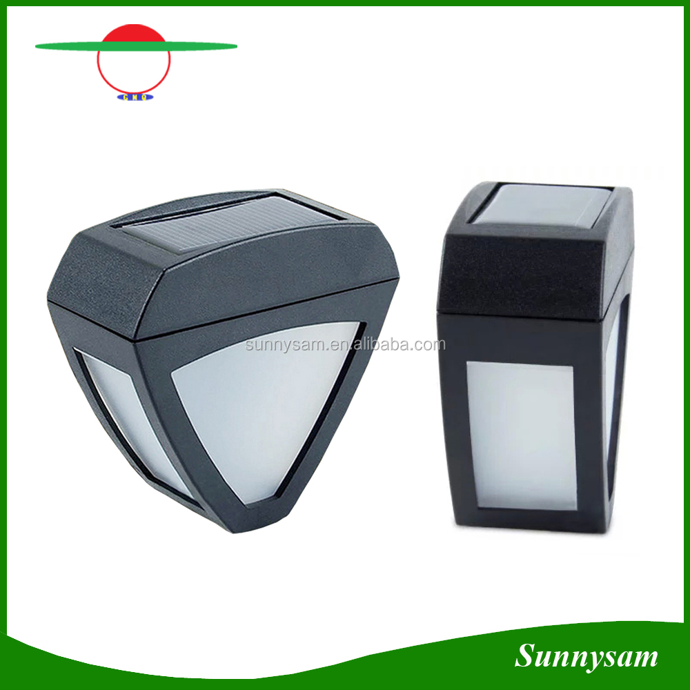 Waterproof 2 LED Solar Outdoor Light for Garden Street Decorative Lighting