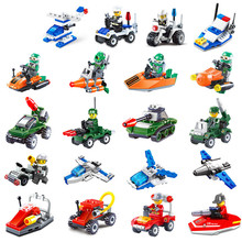 5 themes military Building Brick Blocks Assemble Play Toys Action Figure Building Toy for toys