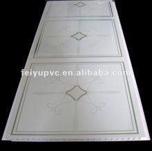 false ceiling tiles transfer pvc panel for house decor