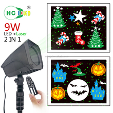 Outdoor Snowflake light Easter Wedding Birthday Party LED Projection Light christmas decorate light