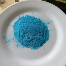 Blue color photoluminescent powder pigments , glow in the dark pigment powder