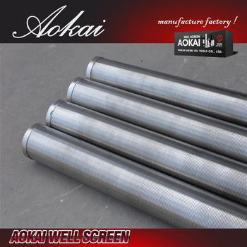 sand water well johnson screen pipe AK with high quality