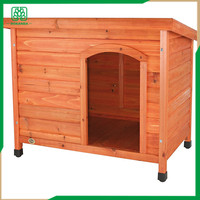 Wooden Dog House, Backyard Kennel in/oudoor