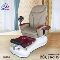 massage glass bowl spa pedicure chair and nail supply