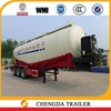 China manufacturer cement air compressor bulk cement powder tank trailers to sale