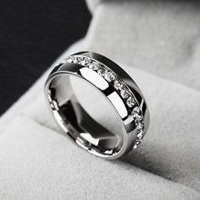2015 Silver wedding jewelry bijoux with laser engraving silver ring