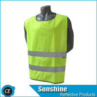 Reflective Safety Vest for running cycling walking Yellow L/XL