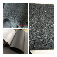 black closed cell foam epdm rubber sheets