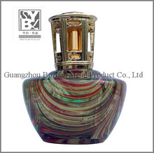 big glass handmade aroma burner colorful incense burner factory directly