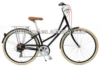 26 Dutch City bike with shimano 7 speed