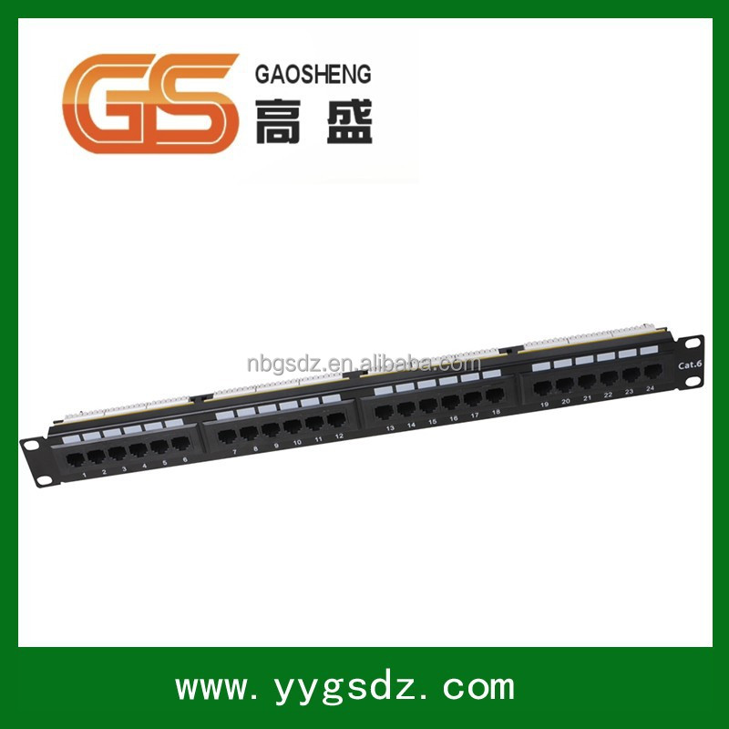 Best seller Network Systimax AMP STP Cat6 24 Port 12 Port Wall Mount Patch Panel
