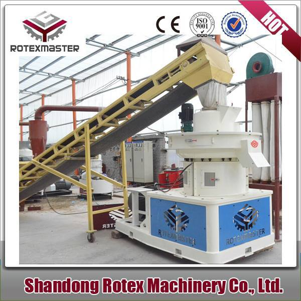 CE Vertical Ring Die Wood Pellet Mill/Biomass Sawdust Briquette Making Machine