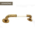 Gold bathroom accessories PVD plated SUS304 Stainless steel grab bars