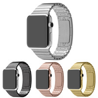 Stainless Steel 1:1 Original Link Bracelet for Apple Watch Band, Stainless Steel Watch Strap for Apple Watch Band 42mm