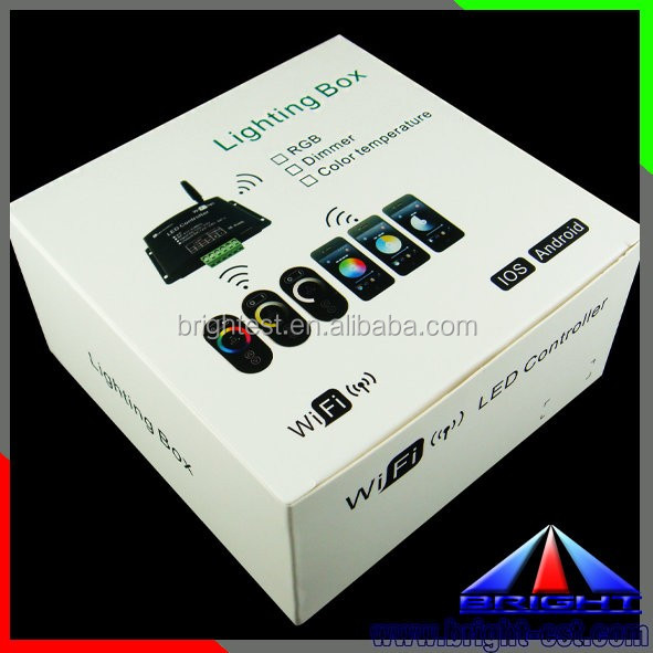 Music Alarm Group IOS Android WiFi 2.4G RGB /RGBW LED Controller