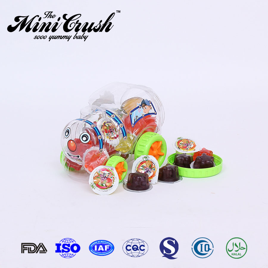 China cheap tropical fruit jelly gummy candy
